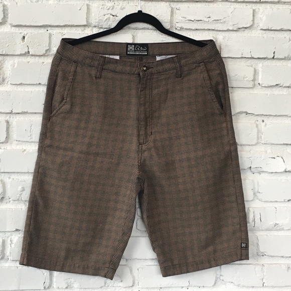 KR3W Other - KREW Long skater shorts with a neutral pattern